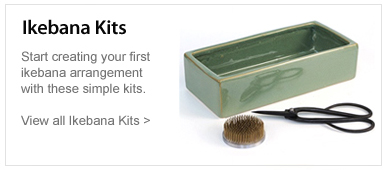 Ikebana Kits. Start creating your first ikebana arrangement with these simple kits. View all Ikebana kits.