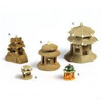 Pagoda Hut Figurines