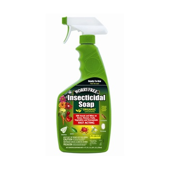 Worry Free Insecticidal Soap for Organic Gardening