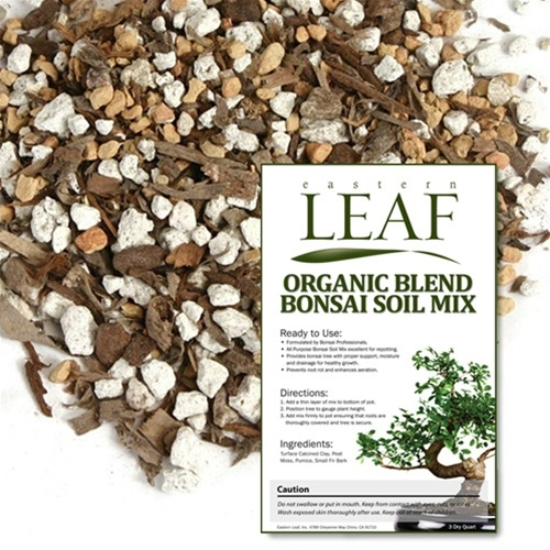Organic blend bonsai soil mix for Organic top soil