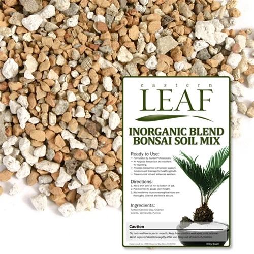 Inorganic blend bonsai soil mix for Is soil a mixture