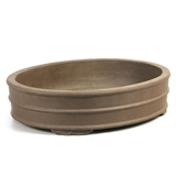 "Oval Ceramic Pot 18.5"" Bonsai Tree Pot"