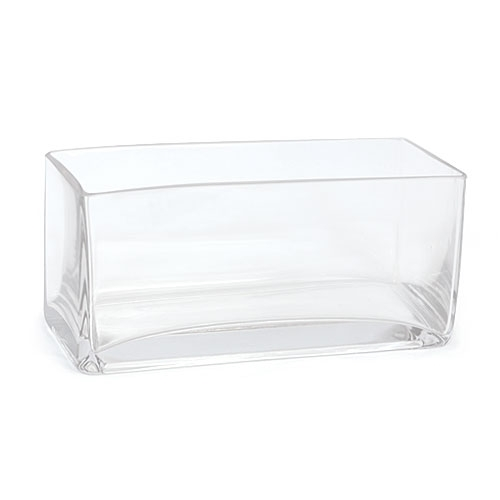 Glass Rectangular Vase Vase And Cellar Image Avorcor