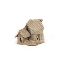 Small Mud Hut 1'' Figurine
