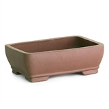 Rectangle Unglazed Ceramic Bonsai Tree Pots