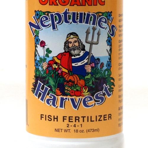 Neptune harvest fish fertilizer for Harvest organic soil