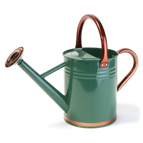 Green gardman metal watering can 1 gal - Gallon metal watering can ...