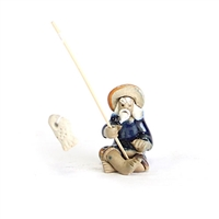 Mini Painted Fisherman