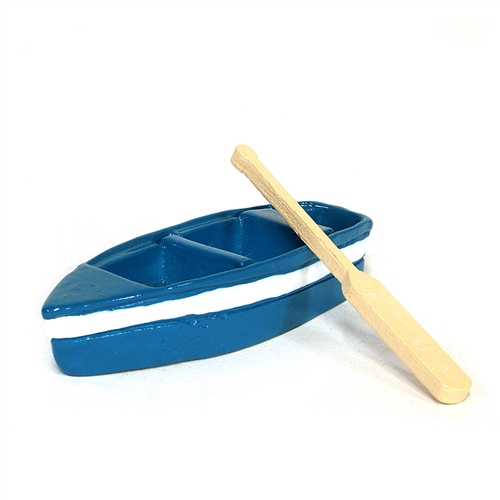Blue Rowboat