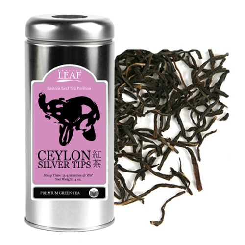 Ceylon Black Tea W Silver Tips Tin