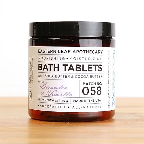 Lavender Amp Vanilla Bath Tablets