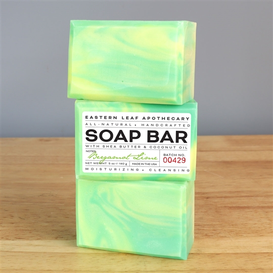 Bergamot Lime All Natural Soap