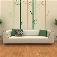 Bamboo Forest Wall Decal