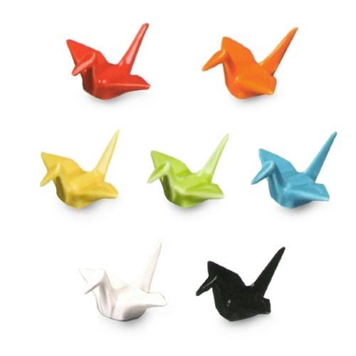 Origami Crane Figurines