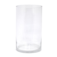 Tall Cylinder Glass Vase
