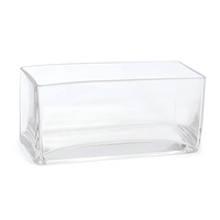 Long Rectangle Glass Vase