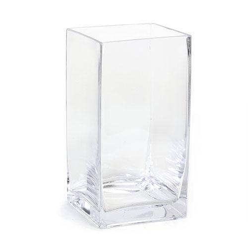 Excellent Large Square Glass Vase ZP95