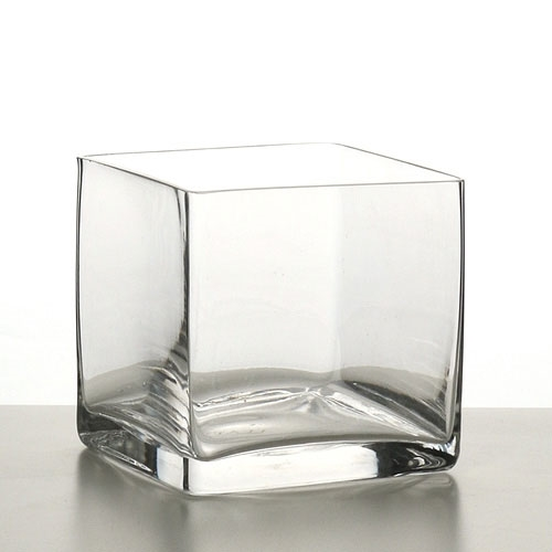 Square Glass Terrarium Vase
