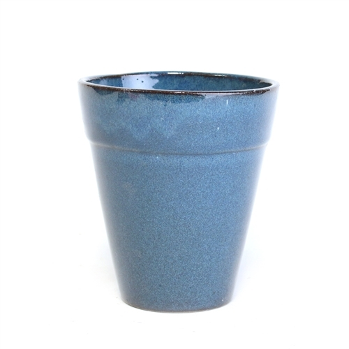 Blue Flower Pot