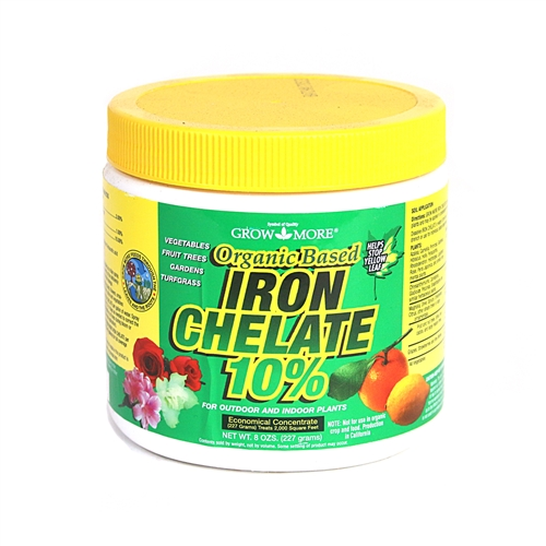 Organic Based Iron Chelate 10%