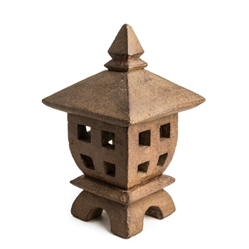 Mini Oki-Gata Lantern - Antique Brown