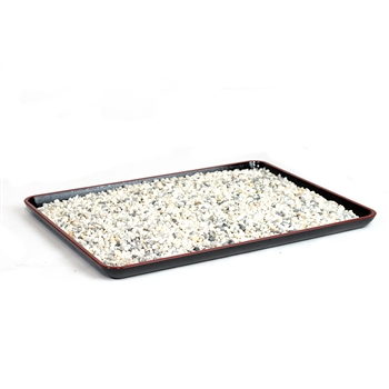 "13"" Large Textured Bonsai Humidity Tray"