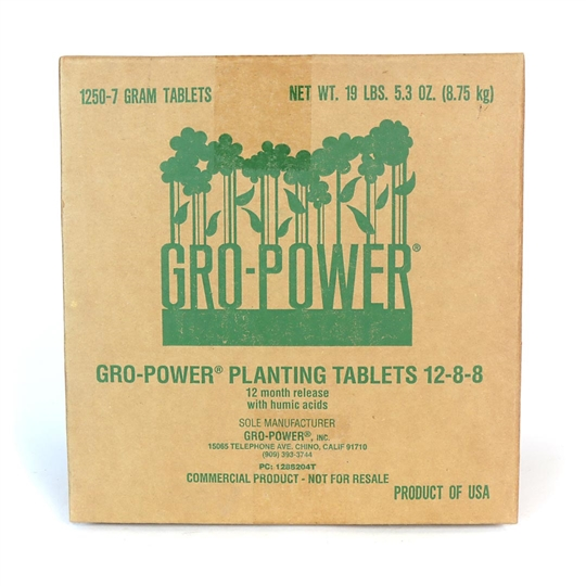 Gro-Power Planting Tablets 12-8-8 Commercial Use
