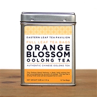 Orange Blossom Oolong Tea Bags