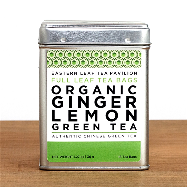 Organic Ginger Lemon Green Tea