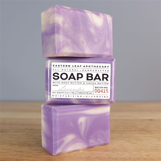 Handmade All Natural Soap - Lavender