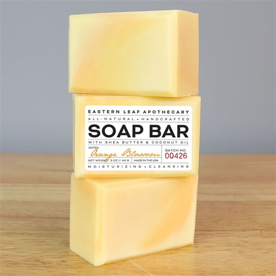 Orange Blossom All Natural Soap