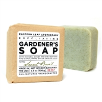 Exfoliating Gardener's Soap with Zeolite Clay - Sweet Basil