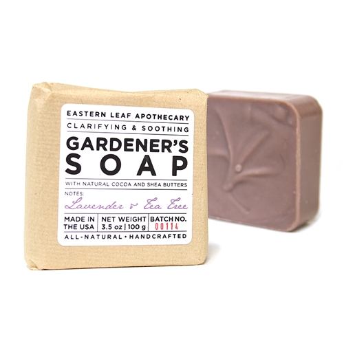 Gardener's Soap with Lavender & Tea Tree