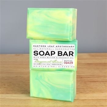 Handmade All Natural Soap - Bergamot Lime