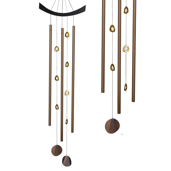 Woodstock Feng Shui Chime Chi Energy Tigers Eye