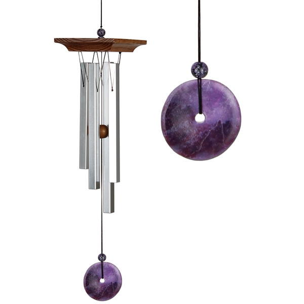 Woodstock Amethyst Chime Small