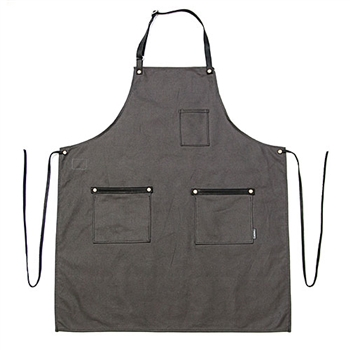 Canvas Bonsai Apron - Stone