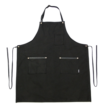 Canvas Bonsai Apron - Black