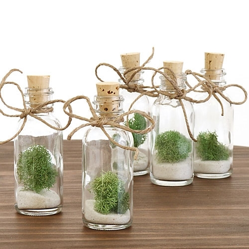 Moss Bottle Favor