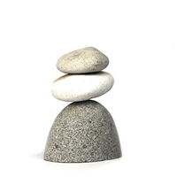 Zen Rock Cairn Stone Sculpture