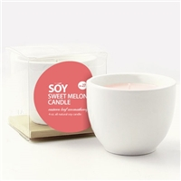 Teacup Soy Candle - Sweet Melon