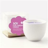 Teacup Soy Candle - Lilac Garden