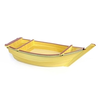 Yellow Sushi Boat