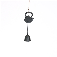 Teapot Cast Iron Wind Chime