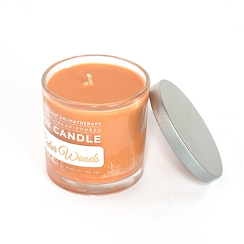 Signature Soy Candle - Cedar Woods